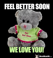 feel better bears teddy greetings get well thank you and big hugs pg 1