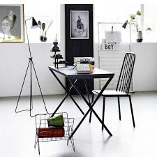 desk tray black house doctor nordic decoration home