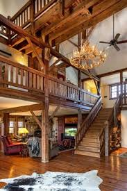 Barn Home Interiors by Custom Timber Frame Barn Home In Newnan Georgia Dc Building