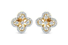 diamond ear studs buy vina diamond earstuds endear jewellery
