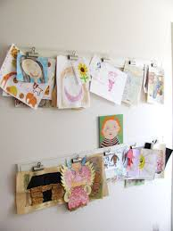 art on wall how to display kids art without making it bothersome homesfeed