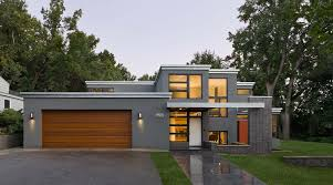 Flat Roof Modern House Andrea Rugg Photography Residential Exteriors Photography