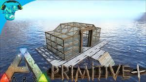 building a floating house no raft primitive ark survival