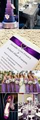 Purple And Silver Wedding Invitations Stunning Wedding Color Ideas In Shades Of Purple And Silver