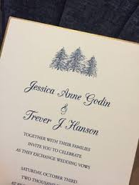 mountain wedding invitations simple mountains wedding invitation winter wedding by