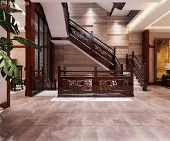 Chinese Interior Design by Chinese Style Corridor Stairs Renovation Interior Design