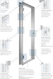 Parts Of An Exterior Door Exterior Door Frame Components Exterior Doors And Screen Doors