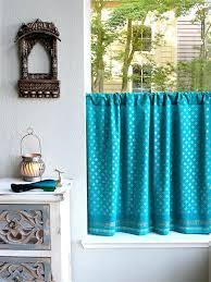 Saffron Curtains Blue Kitchen Curtains Ezpass Club