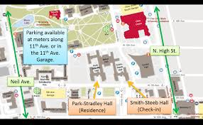 Osu Parking Map Osu South Campus Map Engineering Summer Experience