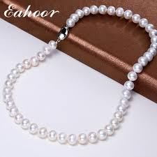 natural freshwater pearl necklace images 925 sterling silver nearly round natural cultured freshwater pearl jpg
