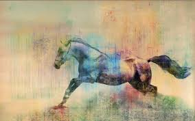horse art desktop background hd 2560x1600 deskbg com