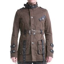 brown steampunk jacket for men crazyinlove uk