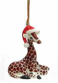 baby giraffe giraffe ornament and animal