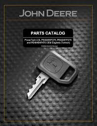Oem 190 607 by John Deere 4045t Engine Parts Catalog Documents