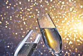 new years chagne flutes new year s menu bleu steakhouse