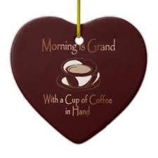 coffee cup ornaments keepsake ornaments zazzle