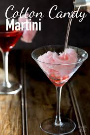 martini rainbow cotton candy martini a delicious cocktail that adds a bit of
