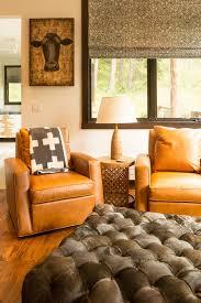 Orange Leather Swivel Chair Jackson Wyoming United States Leather Swivel Chair Living Room