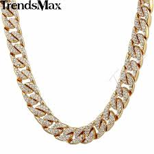 gold filled necklace chains images 14mm mens womens chain curb cuban link gold filled bracelet jpg