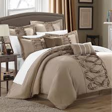 bedroom enchanting modern comforter sets with bed skirt and luxury bedroom design with modern comforter sets and upholstered headboard and bedside table plus table lamp