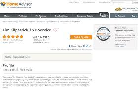 reviews tim kilpatrick tree service coffee county tree care