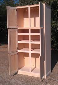 mid century modern kitchen storage cabinet custom made freestanding pantry cabinet by ambassador