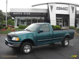 Ford F150 Truck 1997 - 1997 ford f150 xlt regular cab 4x4 in pacific green metallic