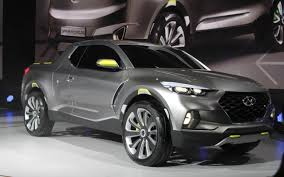 2018 hyundai santa cruz pickup concept price release date specs