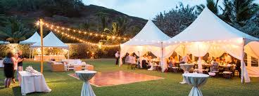 rent a tent for wedding s rentals kauai a kauai tent rental and party supply company