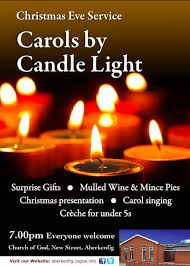 carols by candle light church of god in aberkenfig