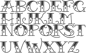 tattoo lettering fonts generator lovely tattoo lettering