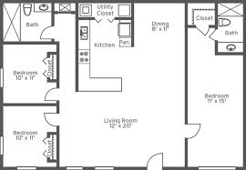 Cool Floor Plans Bedroom Ideas Home Decor Bedroom House Floor Plans With Garage