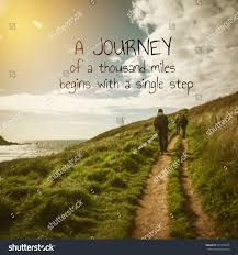 inspirational quote journey inspirational quote on blur background stock photo 523218478