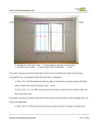 Top And Bottom Rod Curtains How To Measure Curtains And Rods Curtains 4 Australia