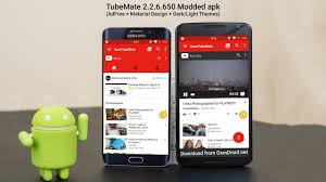 tubemate 2 2 6 650 apk mod adfree material design free download