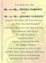 sle wedding invitations wording wedding invitation wording ideas from and groom fresh 24