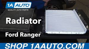 1997 ford ranger radiator how to install replace radiator 1998 2011 ford ranger v6 4 0l buy