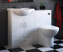all in one toilet and sink unit bryce 1050mm combination furniture set with essential toilet