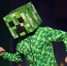 Minecraft Creeper Halloween Costume Minute Videogame Halloween Costume Idea Thumbsticks