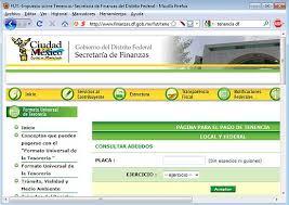 tenencia df consulta 2016 residentes exclusiva evitando robo de vehiculos