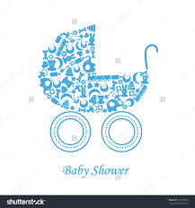 baby boy birth card baby icons stock vector 193799276 shutterstock