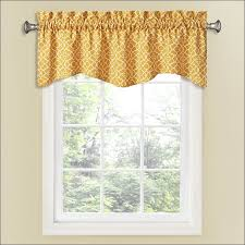 kitchen window curtains tie up valance country style curtains