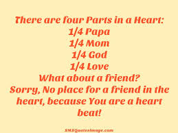 friendship quotes kindergarten because you are a heart beat friendship sms quotes image
