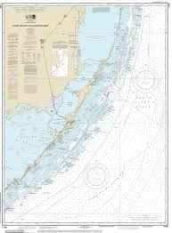 Map Of Florida Coast by Modern Nautical Maps Of Florida 80 000 Scale Nautical Charts
