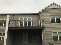 Pictures Of Roofs Over Decks by Deck Railing Minneapolis Carter Custom Construction