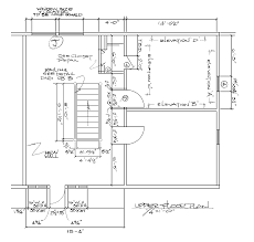 chapter 18 crazy notions dimensioned second floor plan