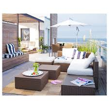 Ikea Patio Furniture - arholma corner section outdoor ikea