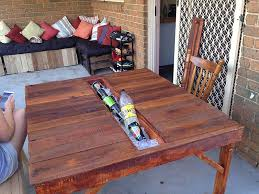 Outdoor Pallet Table Outdoor Table Ideas Mixed Stew