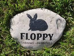 pet memorial garden stones rabbit pet memorials rabbit garden stones and bunny grave markers