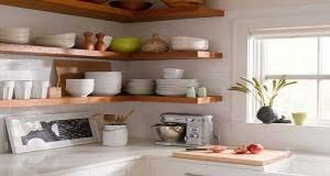 cuisine avec etagere un rangement cuisine déco même sans placards